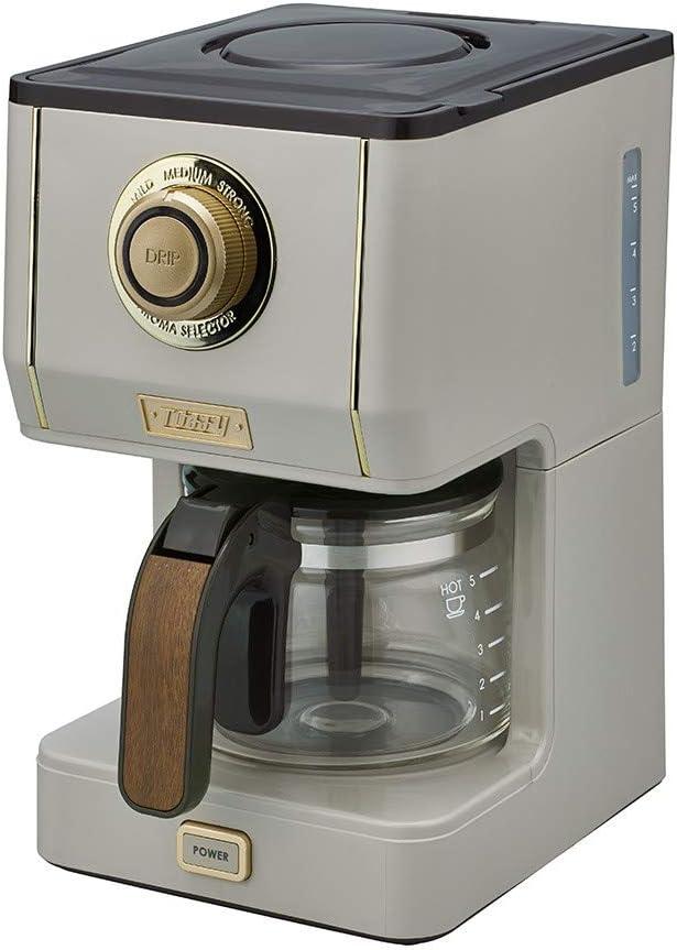 ラドンナ Toffy(トフィー)アロマドリップコーヒーメーカー K-CM5