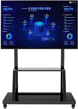 YUIOLIL 32-110In LCD LED OLED Pantallas de Pantalla Plana de Plasma Soporte de TV rodante Trolley Carro de TV móvil: Amazon.es: Hogar