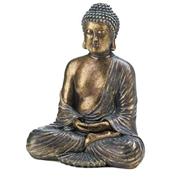 This Item Home Decor Sitting Buddha Statue