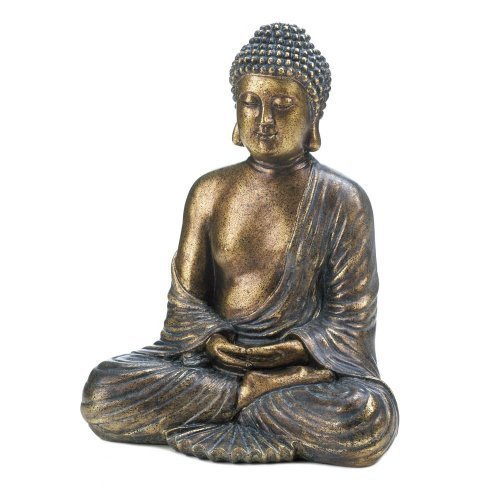 (Home Decor Sitting Buddha Statue)
