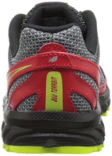 888546333864 - New Balance KJ610 Youth Lace Up Trail Running Shoe (Little Kid/Big Kid), Grey/Red, 2.5 M US Little Kid carousel main 1