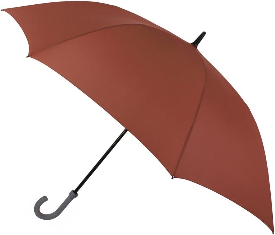Resistente y fiable, así es Nuestra colección de Paraguas VOGUE de Golf. Paraguas XXL de Gran Cobertura. Tiene Apertura automática, es antiviento y con Acabado Teflón. (Rojo Caldera)