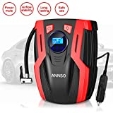 Best Air Compressor For Car Tires - ANNSO Air Compressor Tire Inflator,Car Tire Pump Air Review
