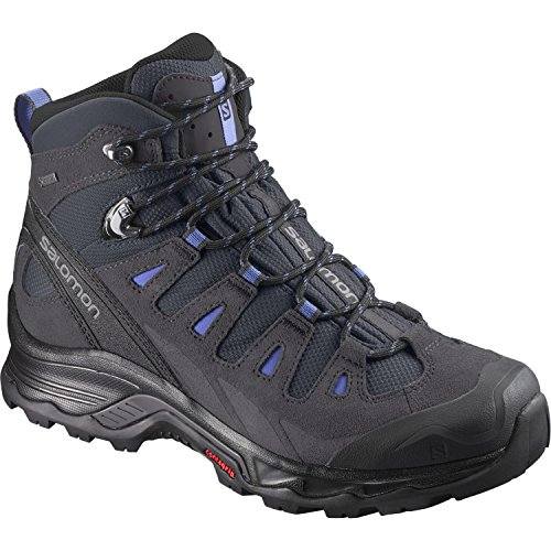 Salomon Women's Quest Prime GTX W Backpacking Boot, India Ink/Phantom/Amparo Blue, 6.5 M US