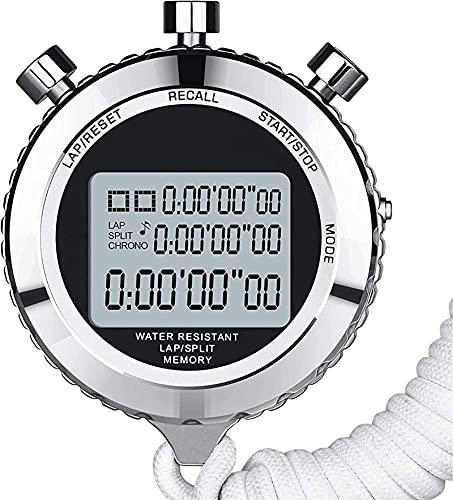 GLLP Stopwatch Multifunctionele Elektronische Stopwatch, Scheidsrechter Sport Toegewijde Chronograaf Stopwatch…