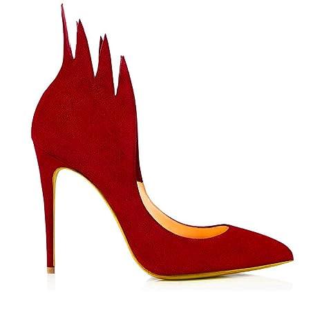 Zapatos Tacón Mujer En La Boca Punta De Alto Con Para HRxqvxg
