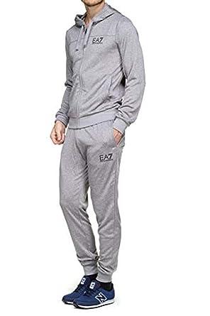 Emporio Armani EA7 Jogging 6zpv54 - Pjg5z 3909 Carbon Mel  Amazon.fr   Vêtements et accessoires 3c2bfd0c69a