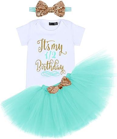 Jurebecia Unicorn Baby Girls Costume 1st Birthday Tutu Skirt Dress With Headband Amazon Ca Clothing Shoes Accessories