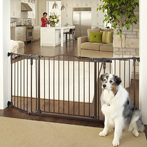 North States Deluxe Decor Wall Mount Pet Gate