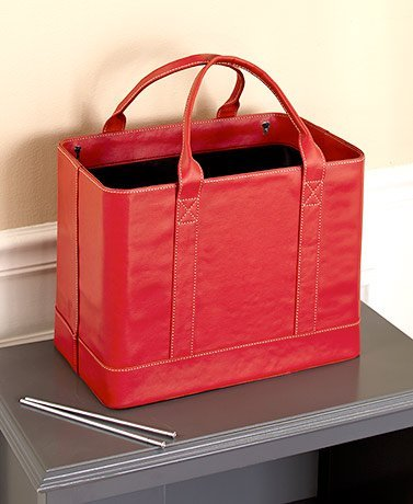 Chic File Organizers (Red) (Organizer Handle Tote)