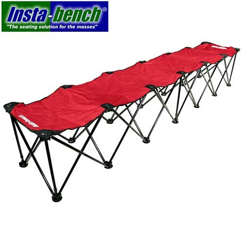 Insta-bench Classic 6-Seater Bench - Red