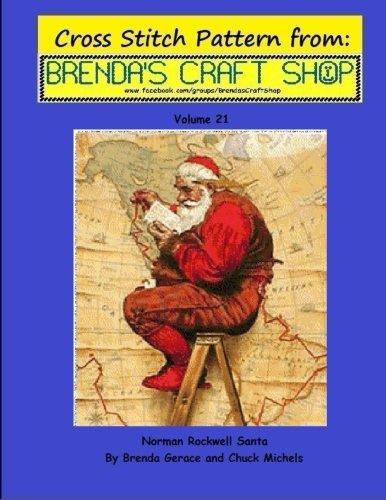 Norman Rockwell Santa - Cross Stitch Pattern: Cross Stitch P