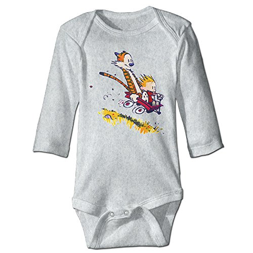 Calvin And Hobbes Slope Cutie Baby, Kids Long Sleeve Jumpsuit Cotton