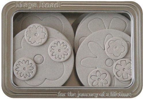 Maya Road Blossoms II Chipboard Set in Tin