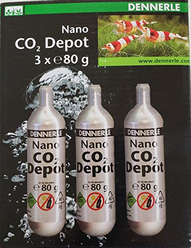Dennerle 3 Pack Replacement Cartridge 80g - CO2 Nano Depot