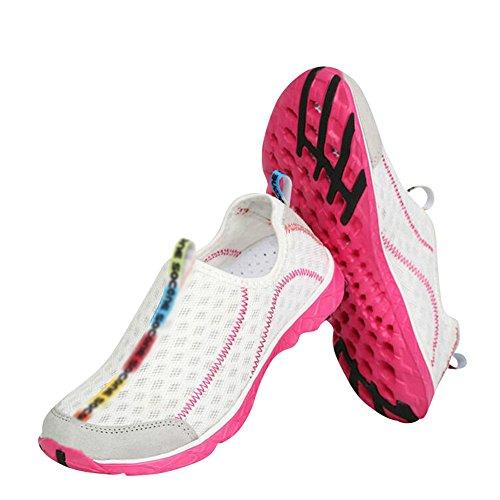 Drying women Mesh Water Pink Women's Shoes fereshte Aqua Quick Couple Men's Unisex Outdoor Breathable wBOZO0