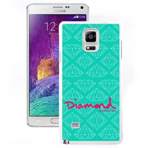 Unique and DIY Note4 Case Design with Diamond Supply Samsung Galaxy Note 4 N910S N910C in White