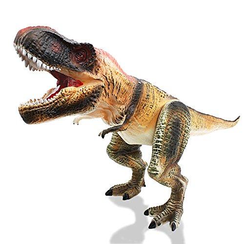 Tyrannosaurus Rex – iPlay, iLearn Dinosaur Action Figure Toys Hand Puppet Dinosaur Animals With Noises (27 Inches)
