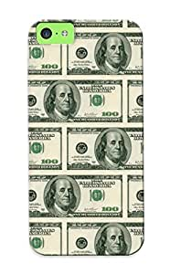 Appearance Snap-on Case Designed For Iphone 5c- Dollar Bills (best Gifts For Lovers)