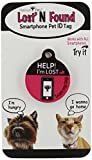 Platinum Pets The Original Smartphone Puppy ID Tag with GPS, Pink