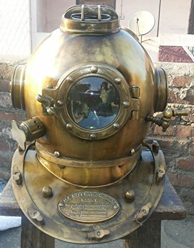 THORINSTRUMENTS Scuba Diving Diver Helmet in Antique Finish