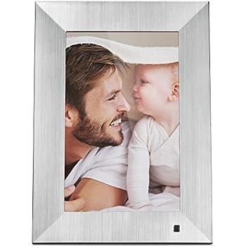 Amazon.com : NIX Lux Digital Photo Frame 13.3 inch X13B, Metal ...