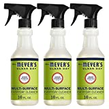 Mrs. Meyer's Clean Day Multi-Surface Everyday Cleaner, Lemon Verbena, 16 Fluid Ounce bottle (Pack of 3)