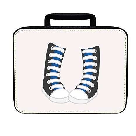 Image Unavailable. Image not available for. Color  London Doll High Converse  Nylon Insulated Lunch Box ... 1834ae8aeaf28