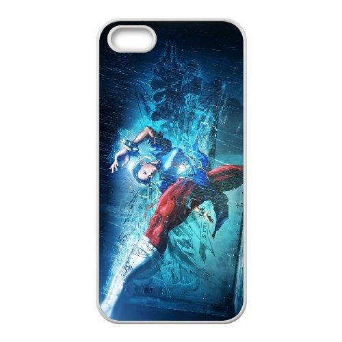 Street Fighter X Tekken 8 coque iPhone 5 5s cellulaire cas coque de téléphone cas blanche couverture de téléphone portable EEECBCAAN03927