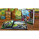 Personalized Story Book by Dinkleboo -Visits The Zoo...