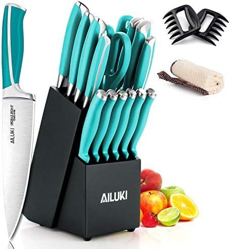 Knife Set AILUKI Sharpener Professional product image