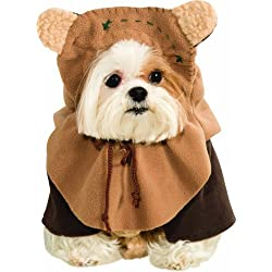 Rubie's Costume Co Star Wars Collection Pet Costume, Medium, Ewok