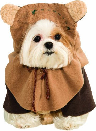 Rubies Costume Star Wars Collection Pet Costume, Small, Ewok (Adult Supercenter)