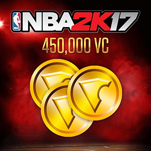 NBA 2K17: 450,000 VC - PS4 [Digital Code] by 2K Games