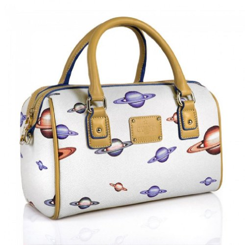 Borsa a mano, Julie, in eco pelle, dimensioni in cm : 28 l x 18 h x 14 p