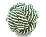 Lifeunion Teething Durable Cotton Knot Rope Dog Toy Ball Chew Toy