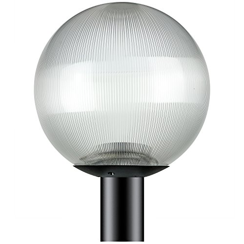 Outdoor Pole Lamp Globe in US - 2