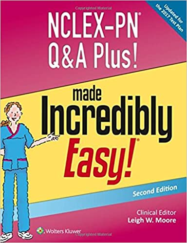 Made Incredibly Easy! NCLEX-PN Q and A Plus