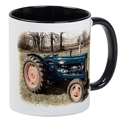 (CafePress - Fordson Vintage Farm Tractor Mugs - Unique Coffee Mug, Coffee)