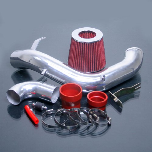 Neon Air Intake Kit (Red 2003-2005 Dodge Neon SRT4 SRT-4 2.4 2.4L Turbo Cold Air Intake Kit Systems)