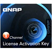 Qnap Camera License Activation Key for Surveillance Station Pro for QNAP NAS (LIC-CAM-NAS-1CH)