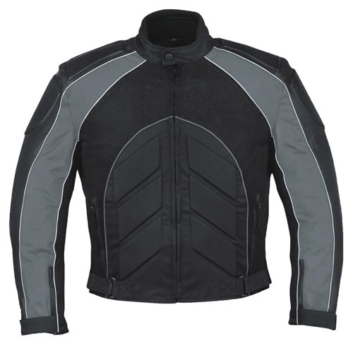 Mossi Black/Dark Grey Elite XX-Large Men's Jacket