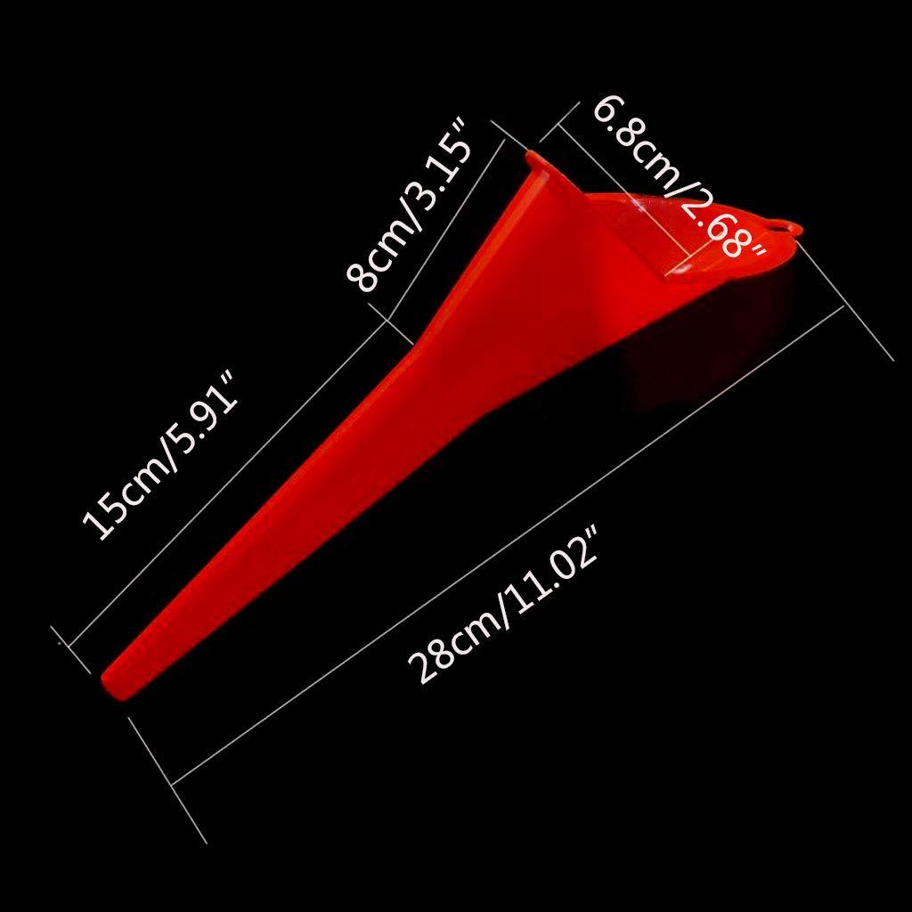 Utilisation de la Machine /à la Ferme et Anti-Fuite Viesky Entonnoir /à Longue Bouche pour Moteur /à Essence et /à Huile de Moto