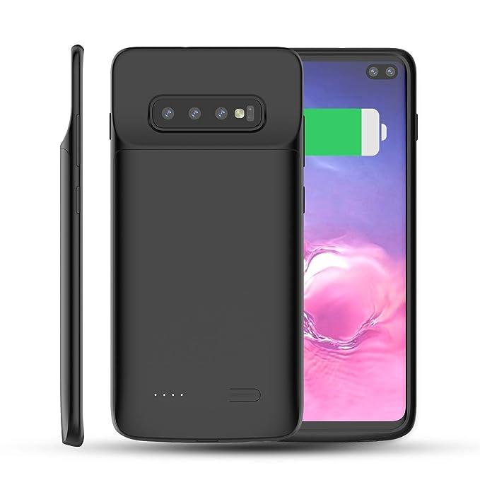 9 opinioni per BasicStock Cover Batteria Samsung Galaxy S10 Plus, 5000mAh Power Bank