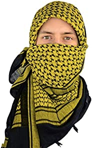 Mato & Hash Military Shemagh Tactical 100% Cotton Scarf Head
