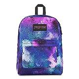JanSport Black Label Superbreak Backpack - Lightweight School Bag | Graffiti Clouds