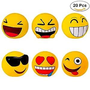Lote de 20 Huchas Emoticonos - Huchas para Niños, Infantiles ...
