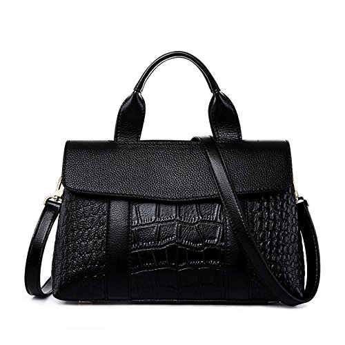 For Clubs Bag Party Black Crocodile Shoulder Body Leather Wedding Shoulder Pillow Totes Pattern Bags Bag Cross Bag w71CAqF1