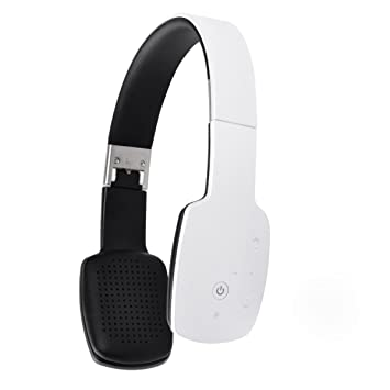 LQQAZY Auriculares Bluetooth Micrófono Incorporado Portátil Juegos PC/Teléfono / TV Auriculares,White: Amazon.es: Electrónica