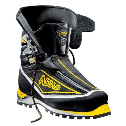 Asolo Eiger GV - Men's Black / Yellow